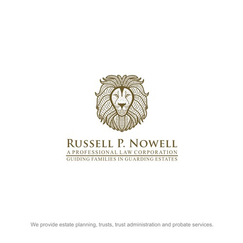 Design a powerful logo for an estate planning law firm