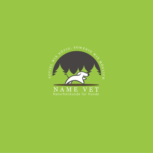 Logo Design Name Vet