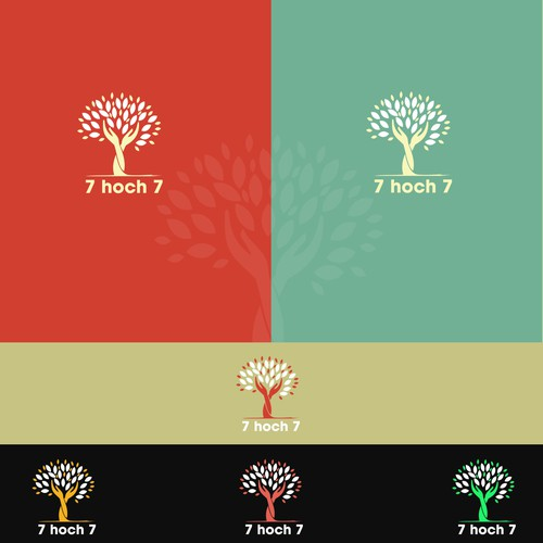 Logo design for 7hoch7