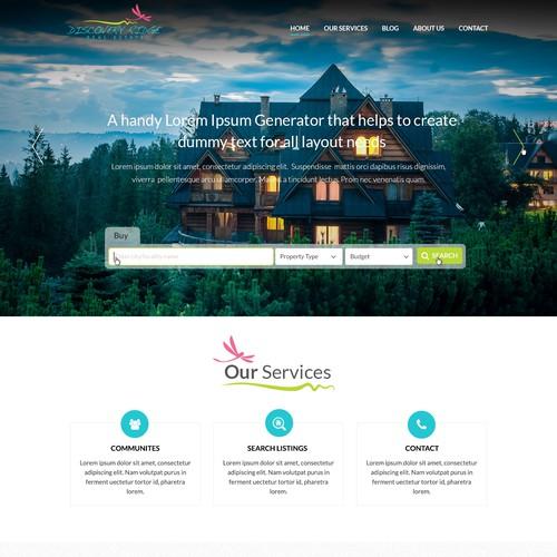 Discovery Ridge Webpage Design
