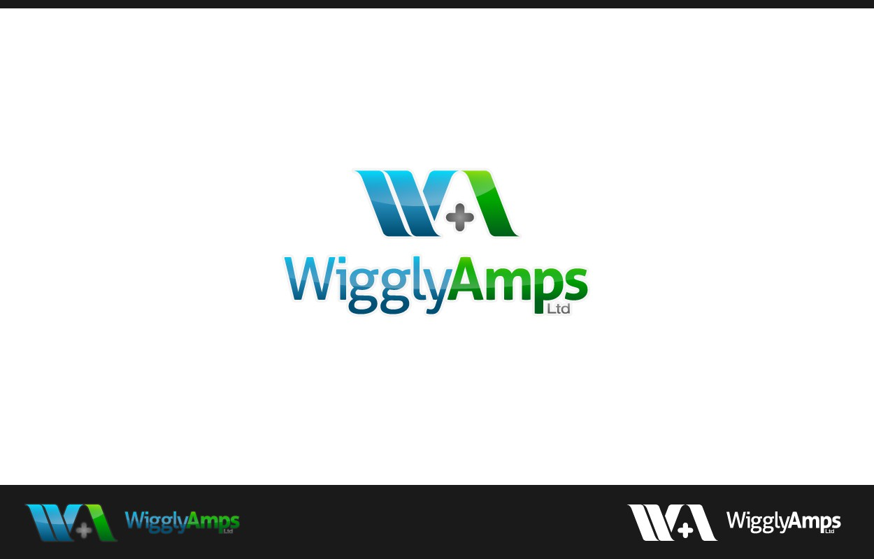 Create the next logo for Wiggly-Amps Ltd