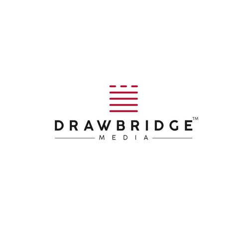 Logo Design Proposal for the brand Drawbridge Media