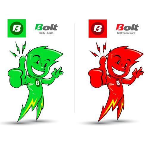 Lightening Bolt Character