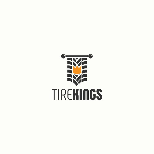 Logo concept for Tire Kings.
