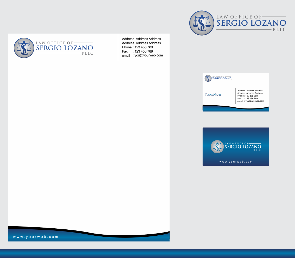 Help Law Office of Sergio Lozano  with a new logo