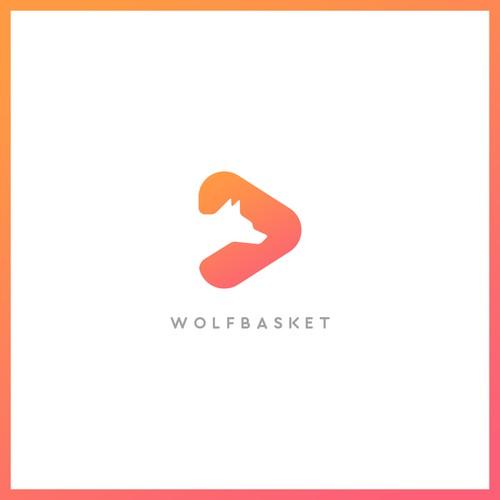 WolfBasket - Logo design
