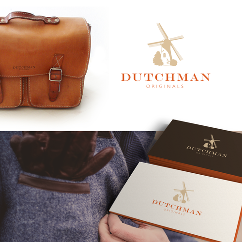 Create a vintage yet modern logo for Dutchman Originals