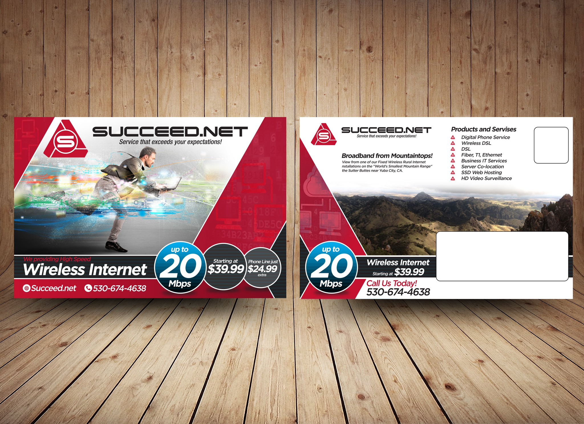 Internet Company for Rural Broadband Mailers