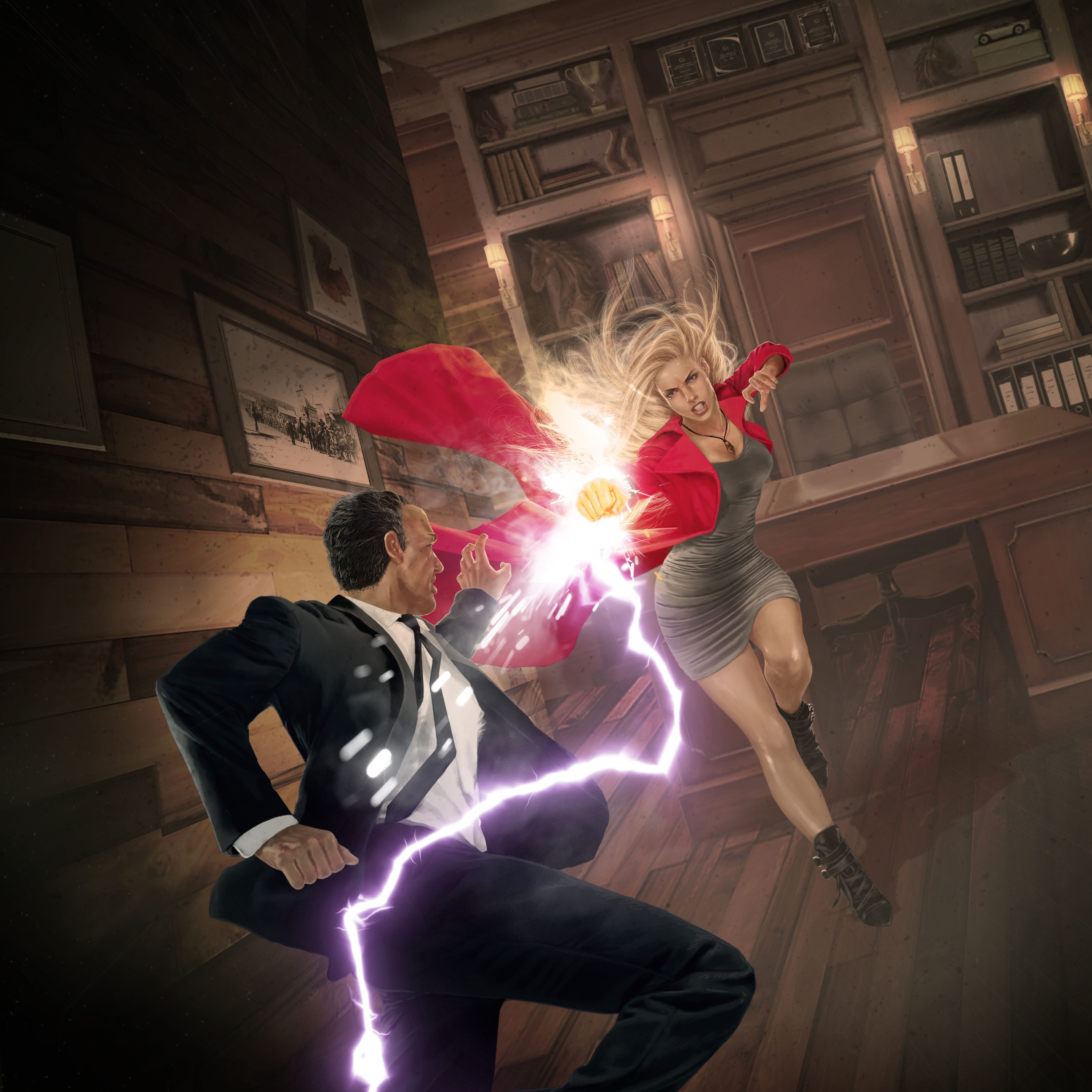 """Book cover art for """"Nothing Broken"""" (Book 4 of Magic City Chronicles)"""