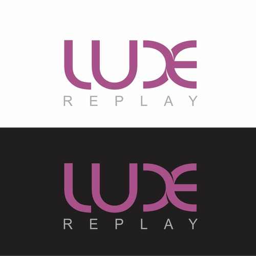 Create a Fabulous and Feminine Logo for online boutique called Luxe Replay