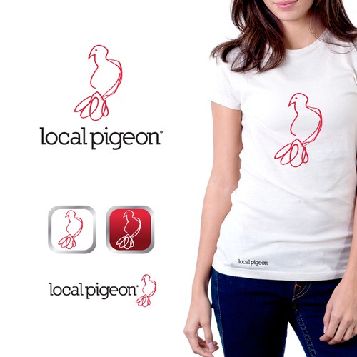 Create the next logo for Local Pigeon