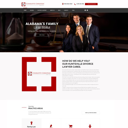 Layout web wordpress