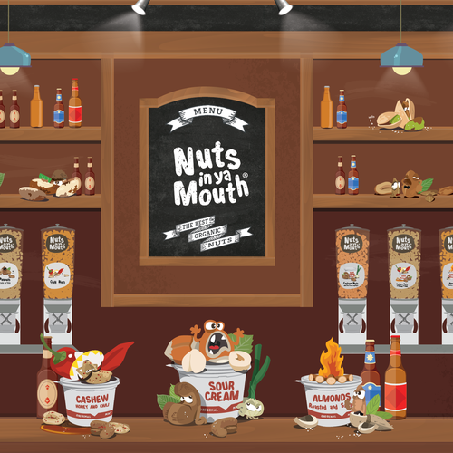 Nuts In Ya Mouth!