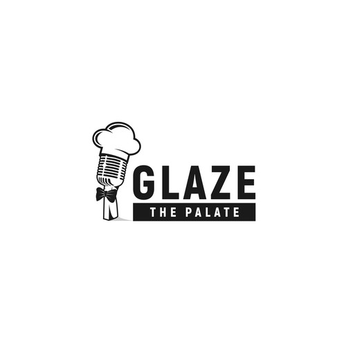 We need a captivating logo for a high end worldwide culinary podcast and blog.