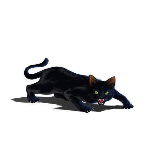 sleek and fiercce cat