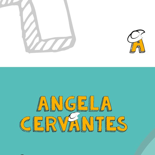 Visual Identity for a children's book author