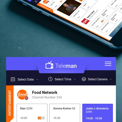 Teleman app