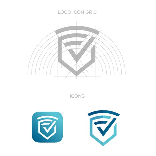 Logo and App Icon for VPN access provider