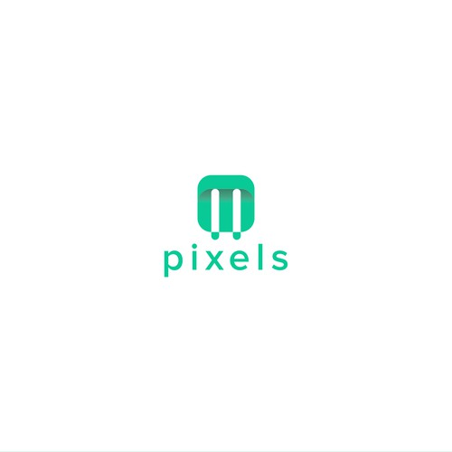 Logo concept for M2 Pixels