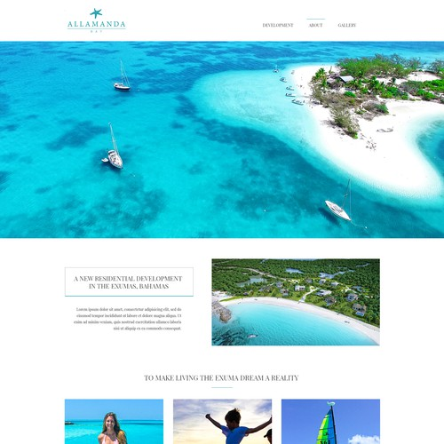 Resort webdesign