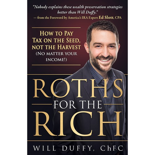 Bestselling Financial Author Needs a New Book Cover Design