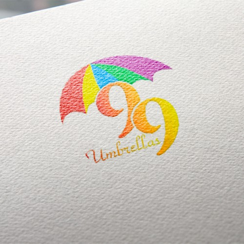 99Umbrellas —a new startup renting beach gear to vacation-goers —seeks a fun and whimsical logo!