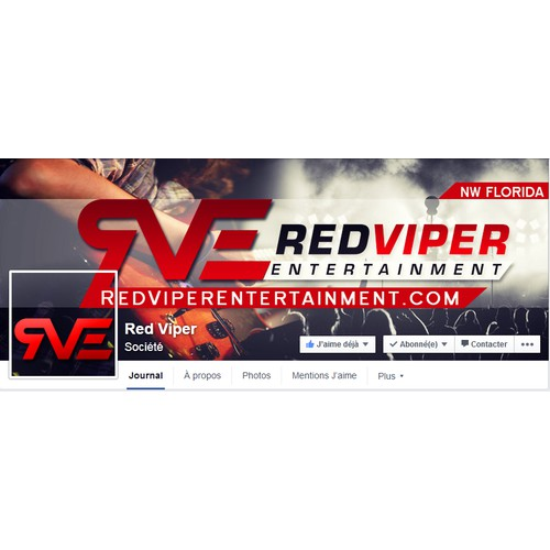 RedVIper header For facebook