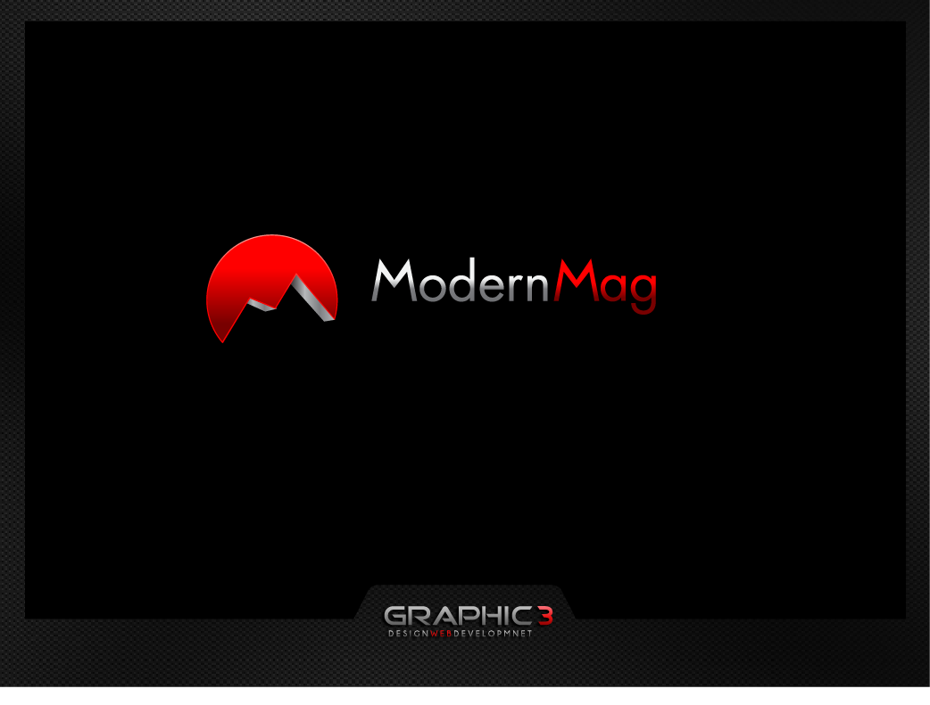"Bring your design inspiration to the ""modern mag"" logo. Now GUARANTEED!!"