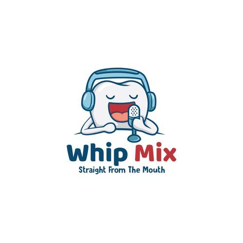 Dental Podcast - Character Logo Design