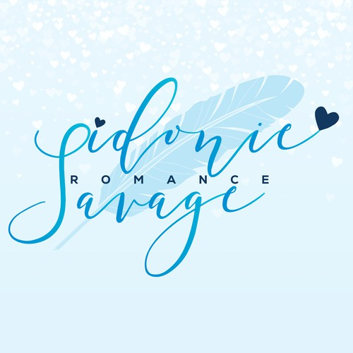 - Author logo design for Sidonie Savage