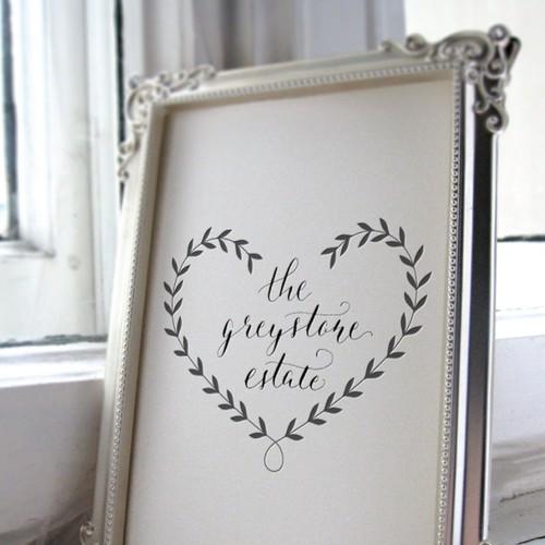 Logo for a wedding venue