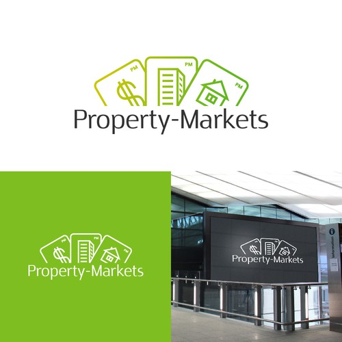Logo concept for realty company.