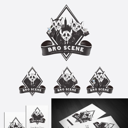 GUARANTEED PRICE - Young, fresh, masculine logo requested for party travel agency