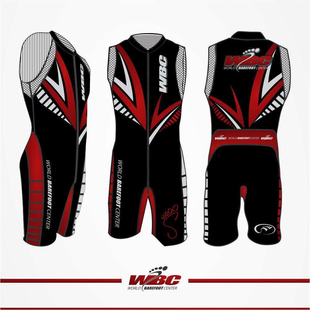 Create a sharp new wetsuit design for The World Barefoot Center