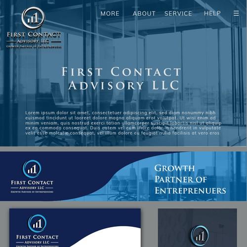 advisory brand identity