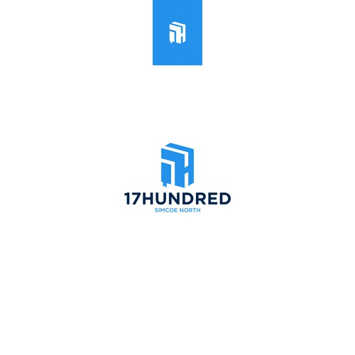 Logo Design - 17Hundred Student Apartments