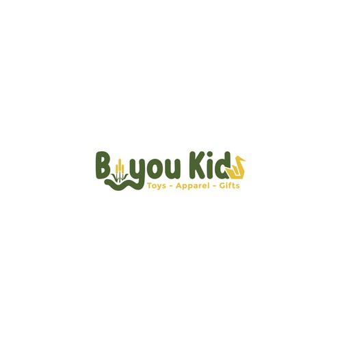 Logo concept for Bayou Kids