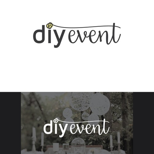 Event planning logo design