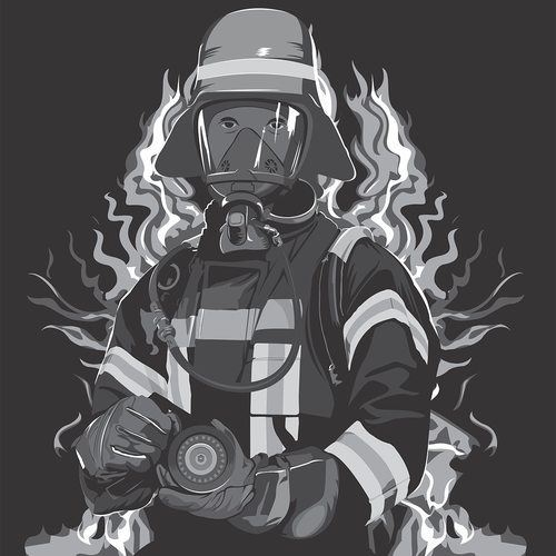 Firefighting t-shirt