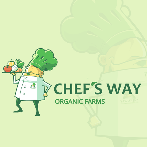 Create an eye-popping logo for an Organic Farming Business