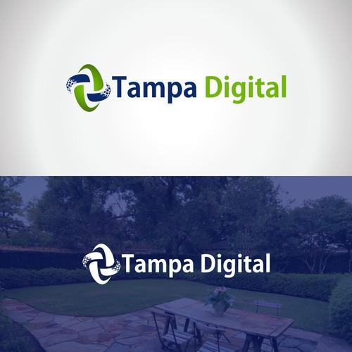 """Logo Design For """"Tampa Digital"""""""