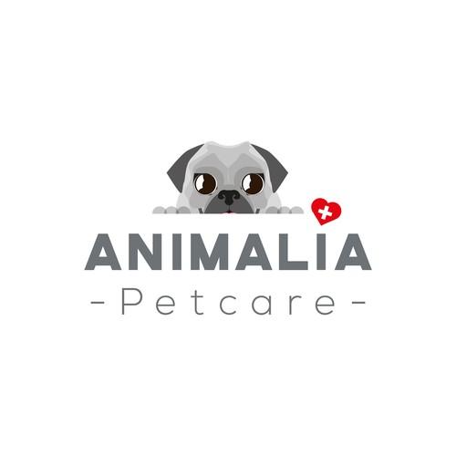 Logo for a petsitting company