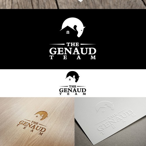 Create an identity package for a luxury realtor