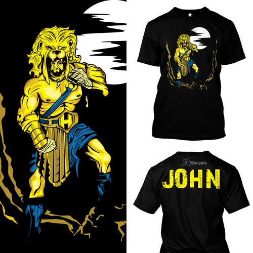 Hercules theme.. T-shirt boxing