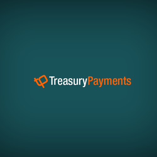 Treasury Payments Logo design