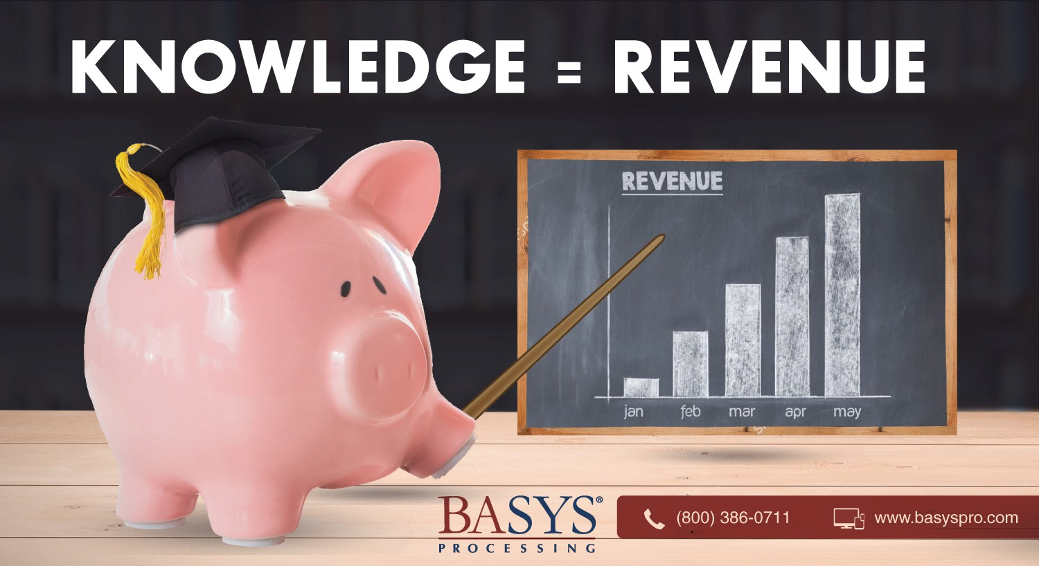 BASYS - Direct Mail - Bank Education Series - Knowledge = Revenue