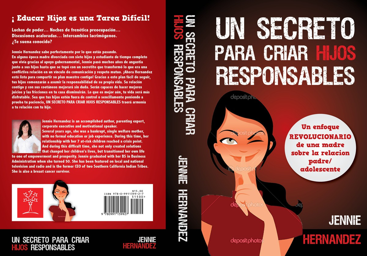 Design a creative cover for internationally published author and parenting expert.