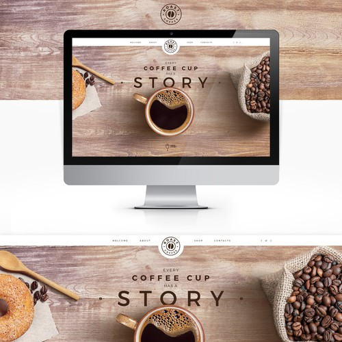 """Global coffee company """"Roast.com"""""""