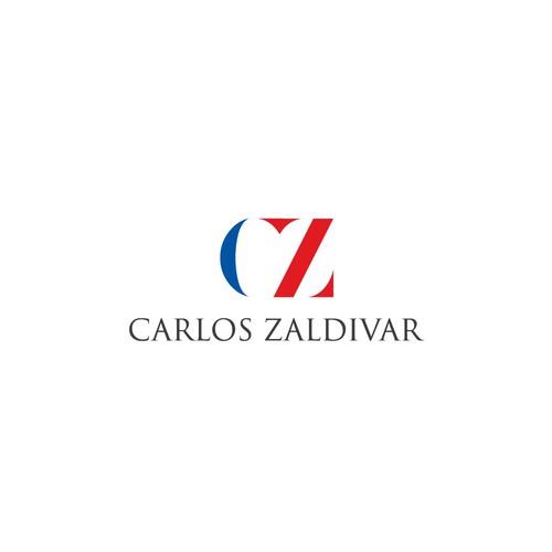 "Logo concept for ""Carlos Zaldivar"""
