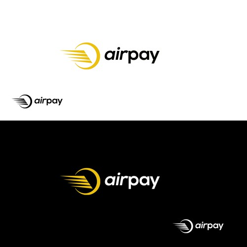 Bold logo concept for airpay